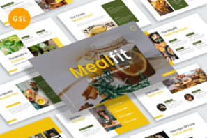 Mealfit - Healthy Food Google Slides