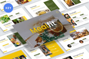 Mealfit - Healthy Food Keynote