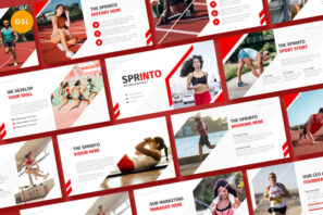 Sprinto - Sport Google Slides