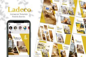 Ladeco Interior Instagram Template