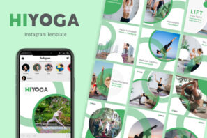 Hiyoga Instagram Templates