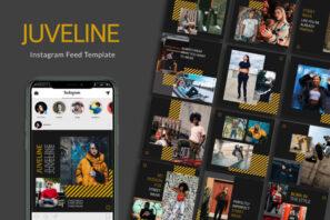 Juveline Instagram Templates