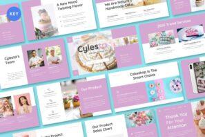 Cylesta - Cake & Snack Keynote