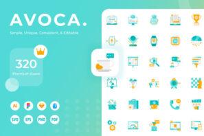 Avoca Icons
